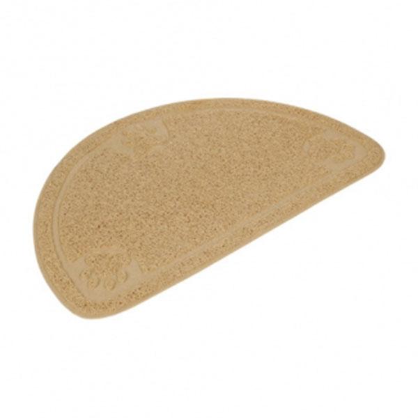 펫라이프 하프문 모래매트 아이보리