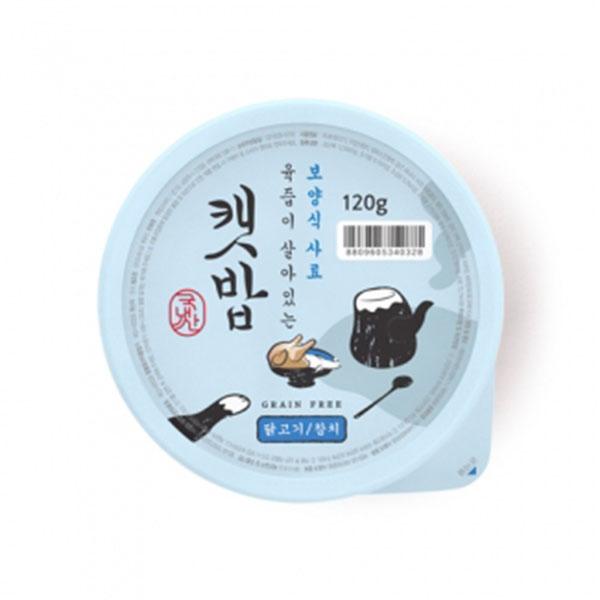 캣밥 보양식 닭고기&참치 120g