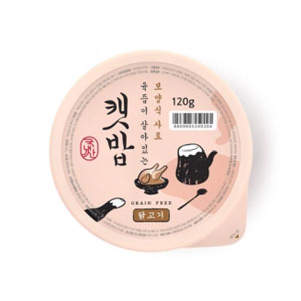 캣밥 보양식 닭고기 120g