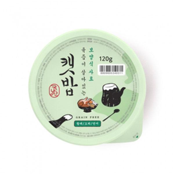 캣밥 보양식 황태&오리&연어 120g