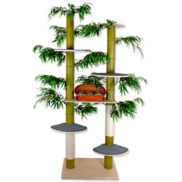 펫모닝 숲속의 고양이 대나무 캣트리 531
