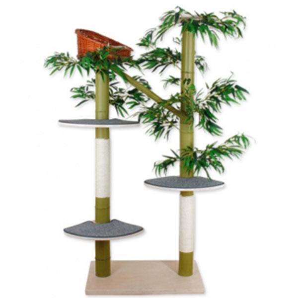 펫모닝 숲속의 고양이 대나무 캣트리 532