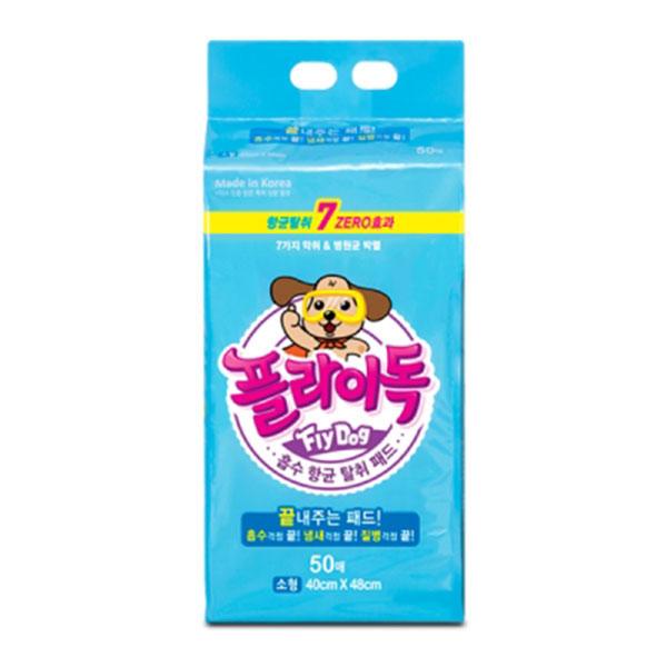 플라이독 애견패드 소형 50매