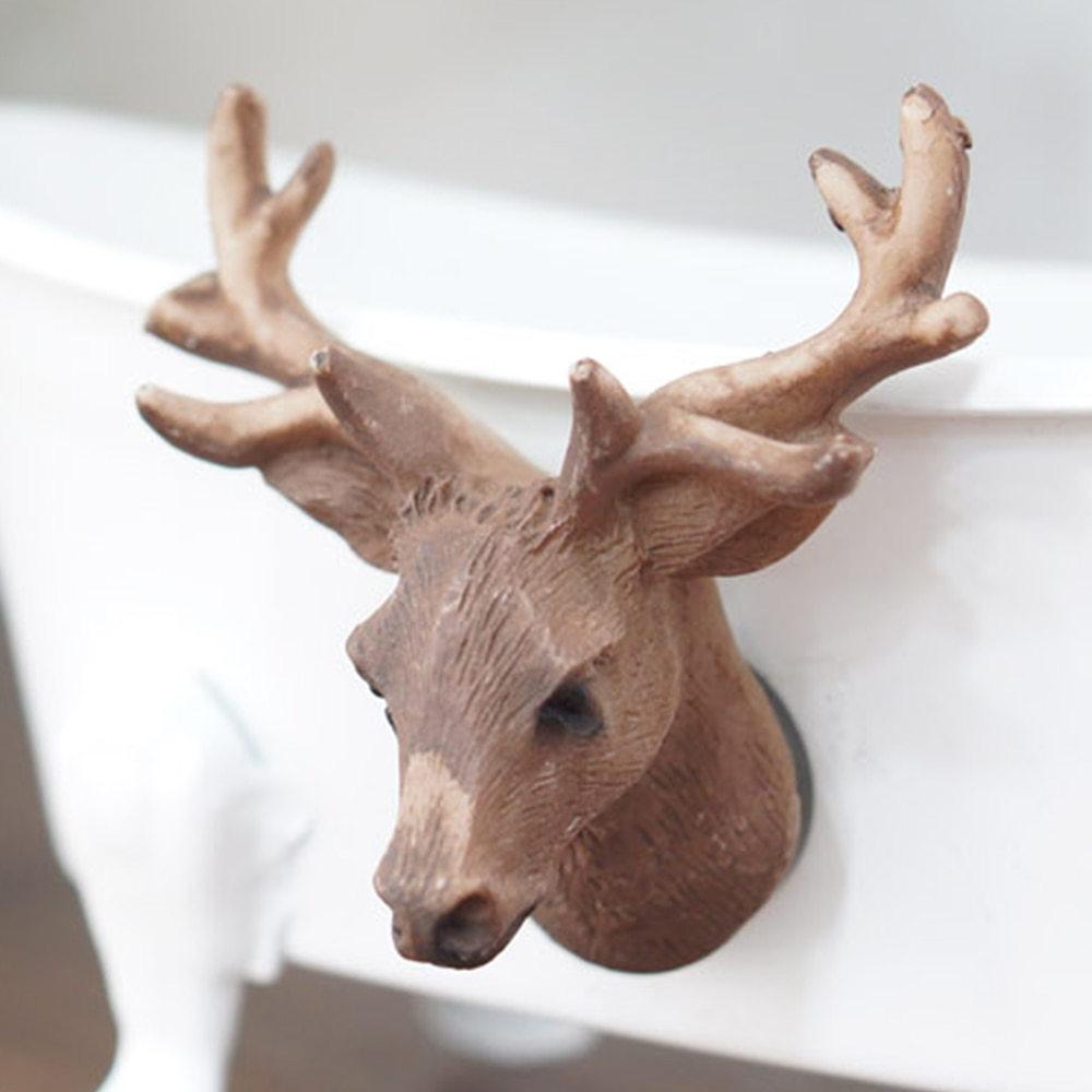 [현재분류명],마블소재 미니 사슴 자석 마그넷,