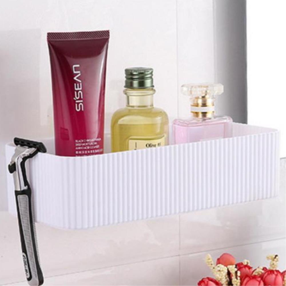 골지느낌 벽부착형 다용도 수납선반 욕실선반