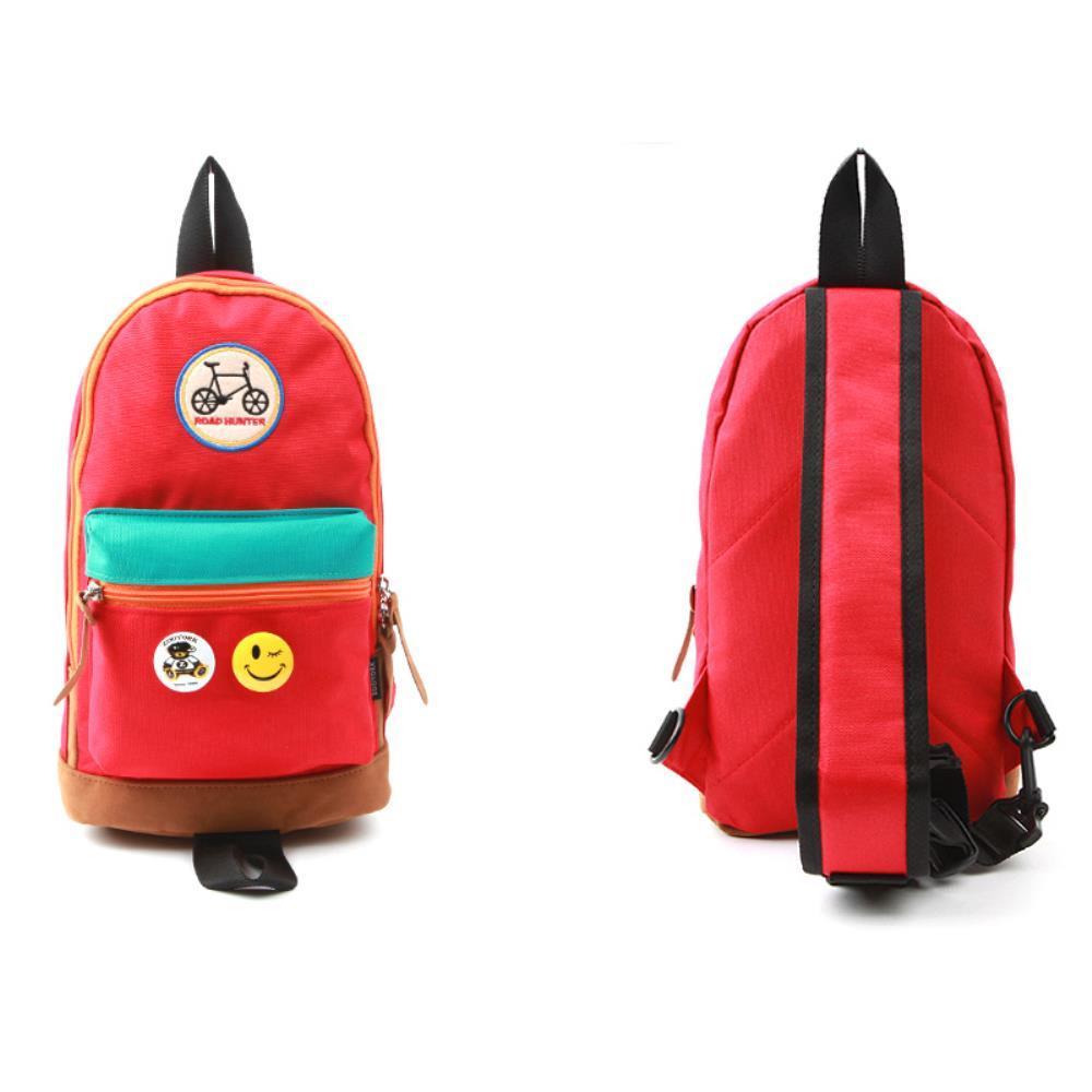 어린이 여학생 귀여운 스타일 슬링백 여행가방 가방 여자백