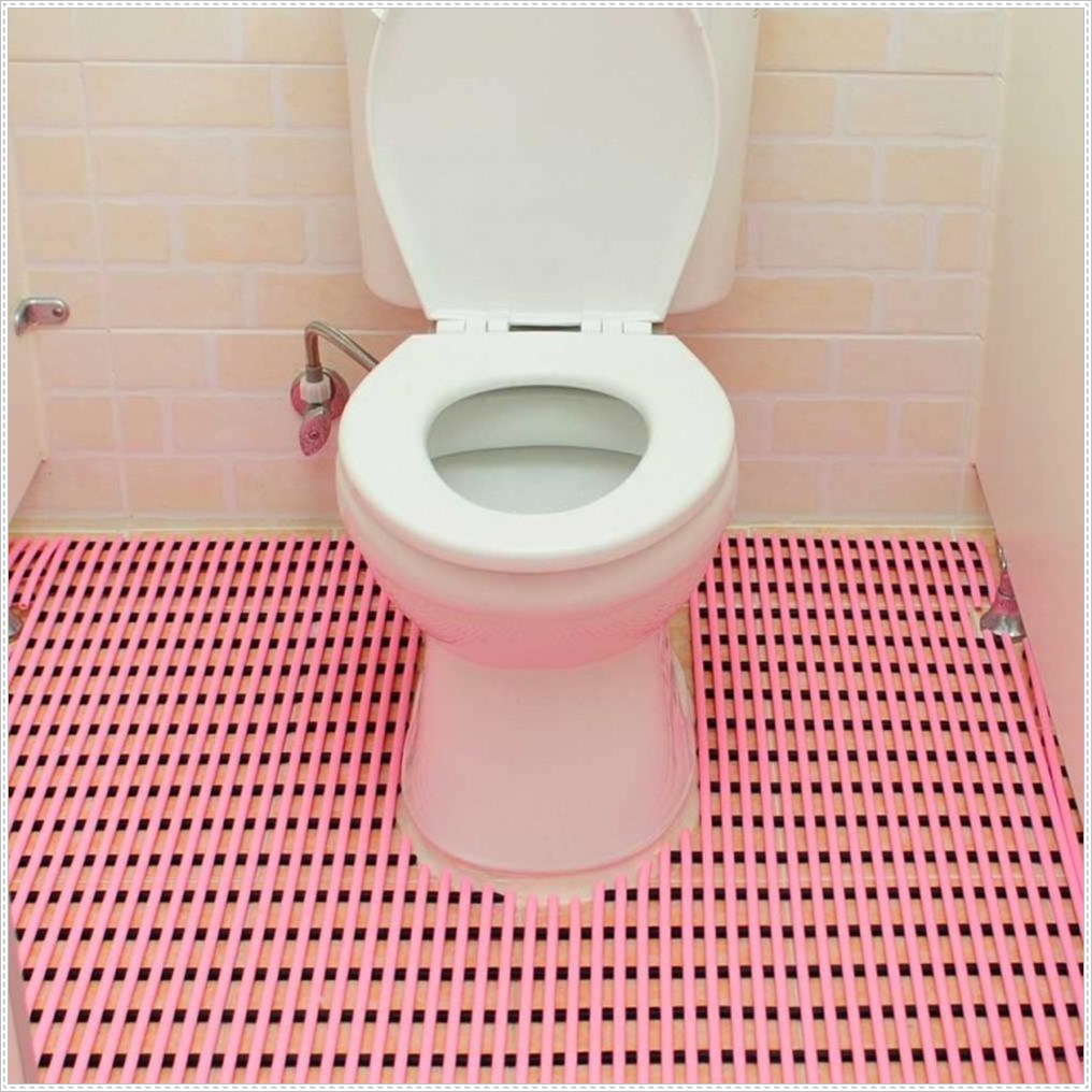 어린이집 화장실 깔판 미끄럼방지 매트 화장실발판