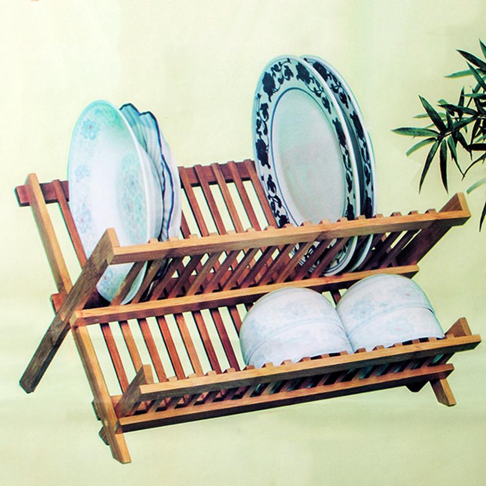 주방 씽크대 정리 접이식 접시 선반 벽걸이선반 간단