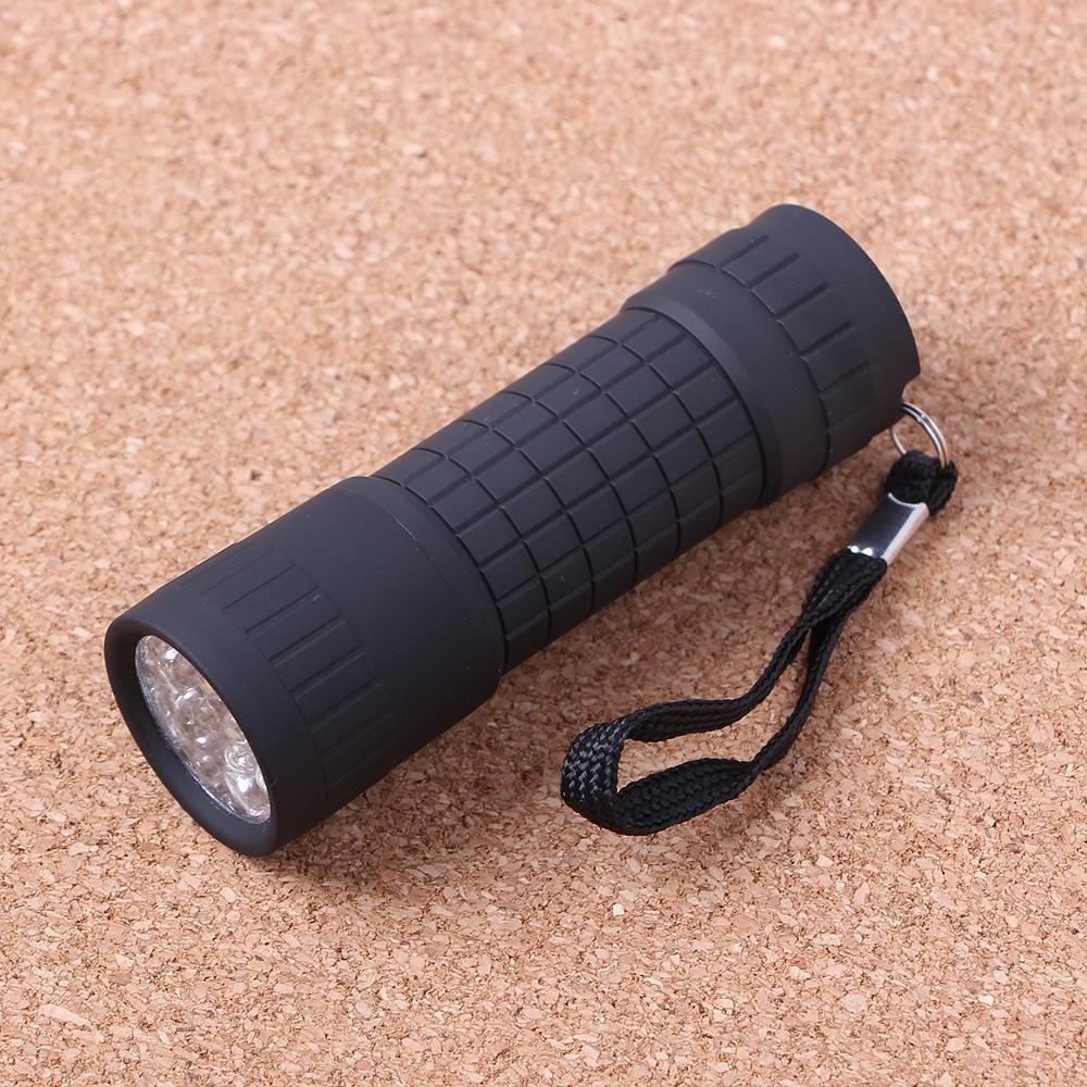 14구 LED 손전등 휴대용 후레쉬 3개 등산용품 조명