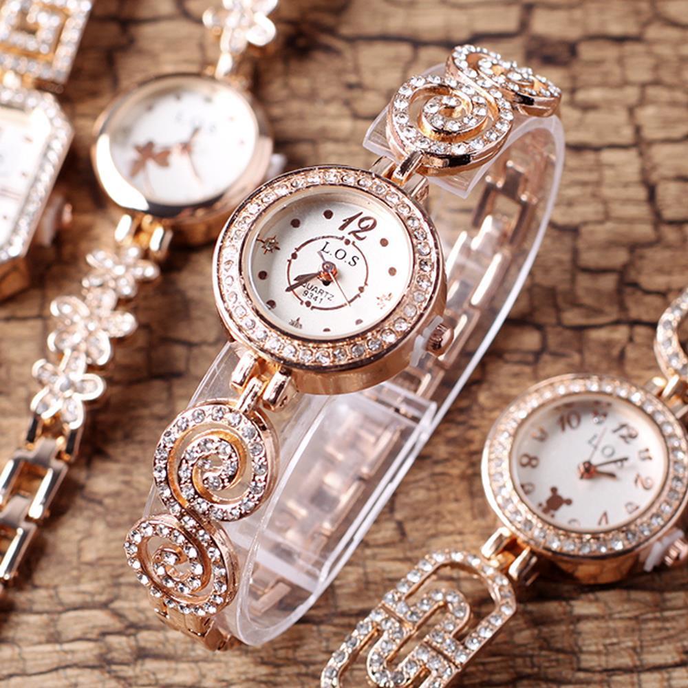 원피스룩 러블리 팔찌 겸용 손목시계 200일선물