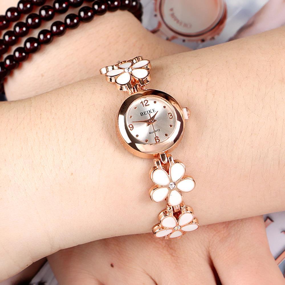 생활방수 팔찌 겸용 여성 손목시계 200일선물
