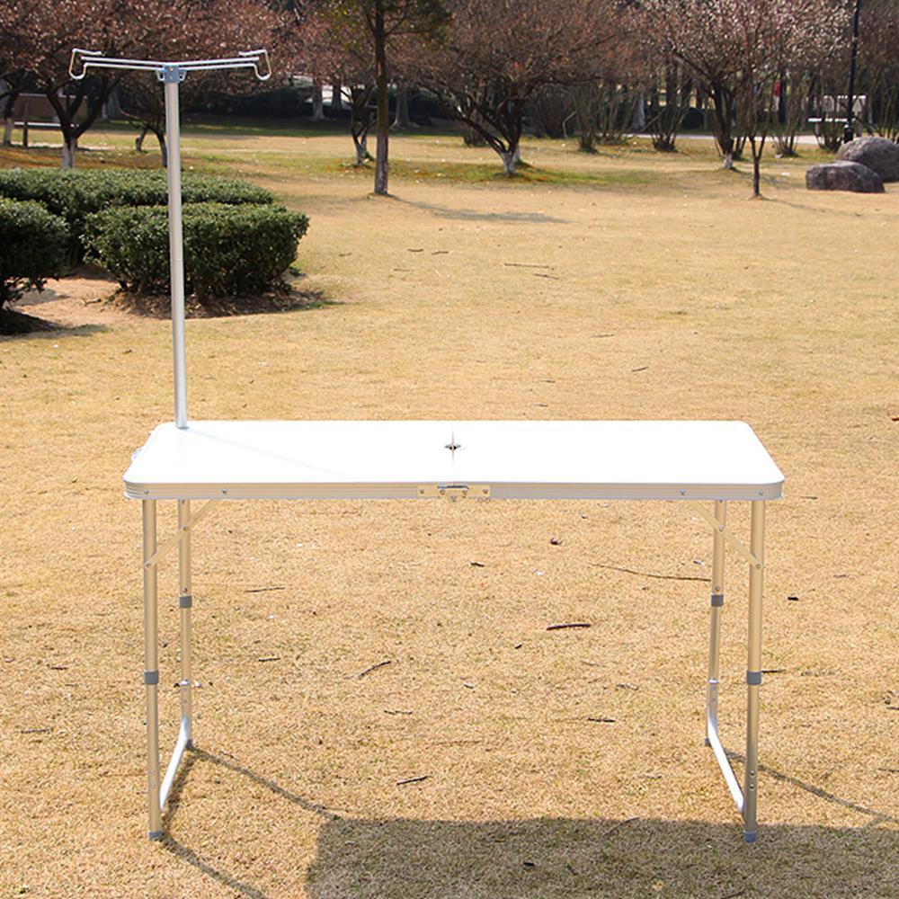 휴대 이동 접이식 렌턴걸이 캠핑테이블 정원테이블