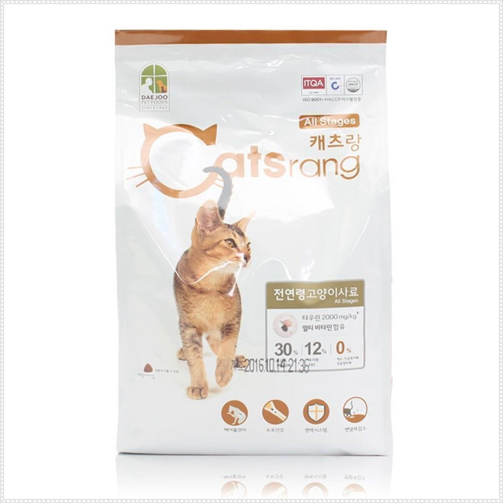 고양이 헤어볼 예방 전연령 건강사료 반려묘사료