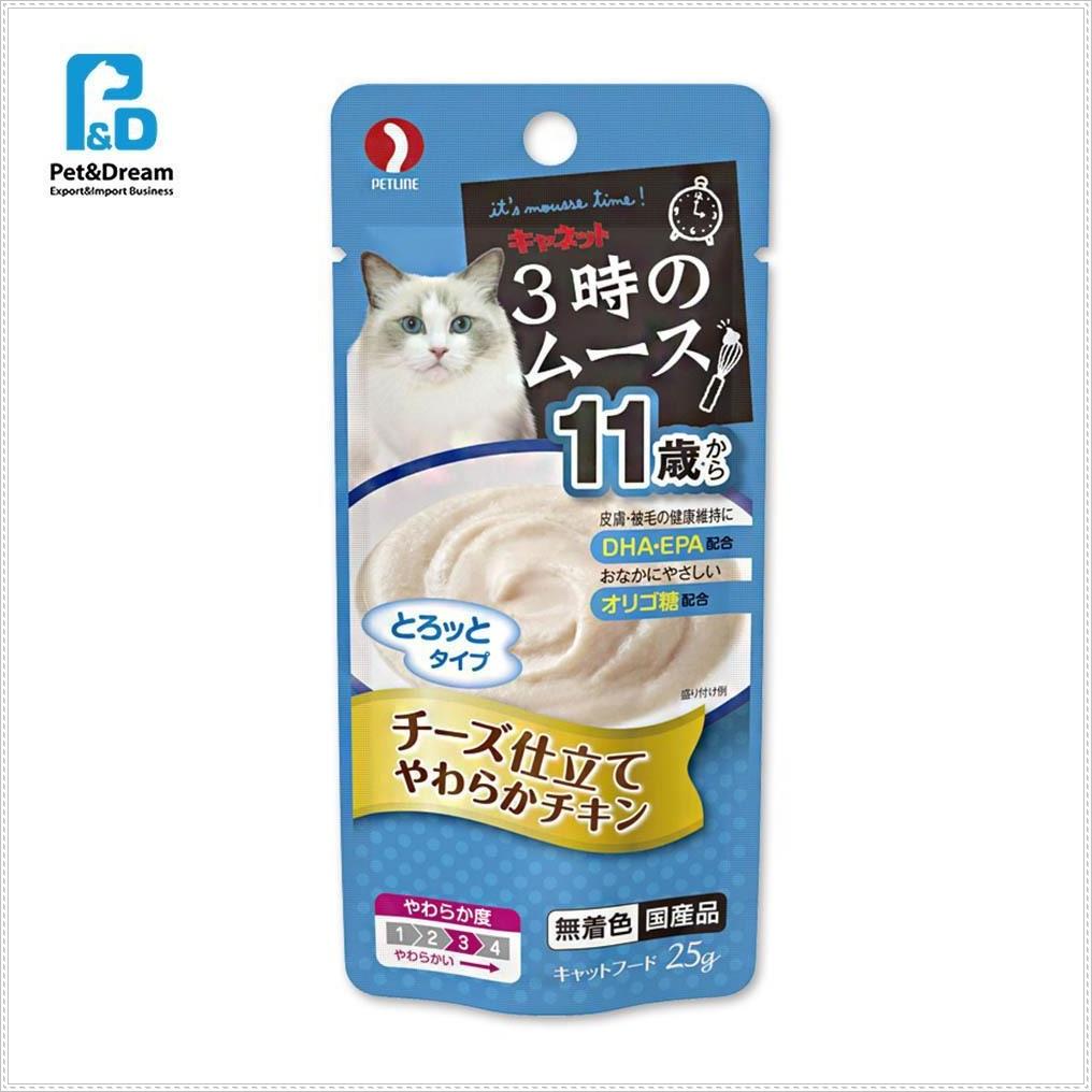11세이상 냥이파우치 치즈 25g 고양이영양간식 캣음식