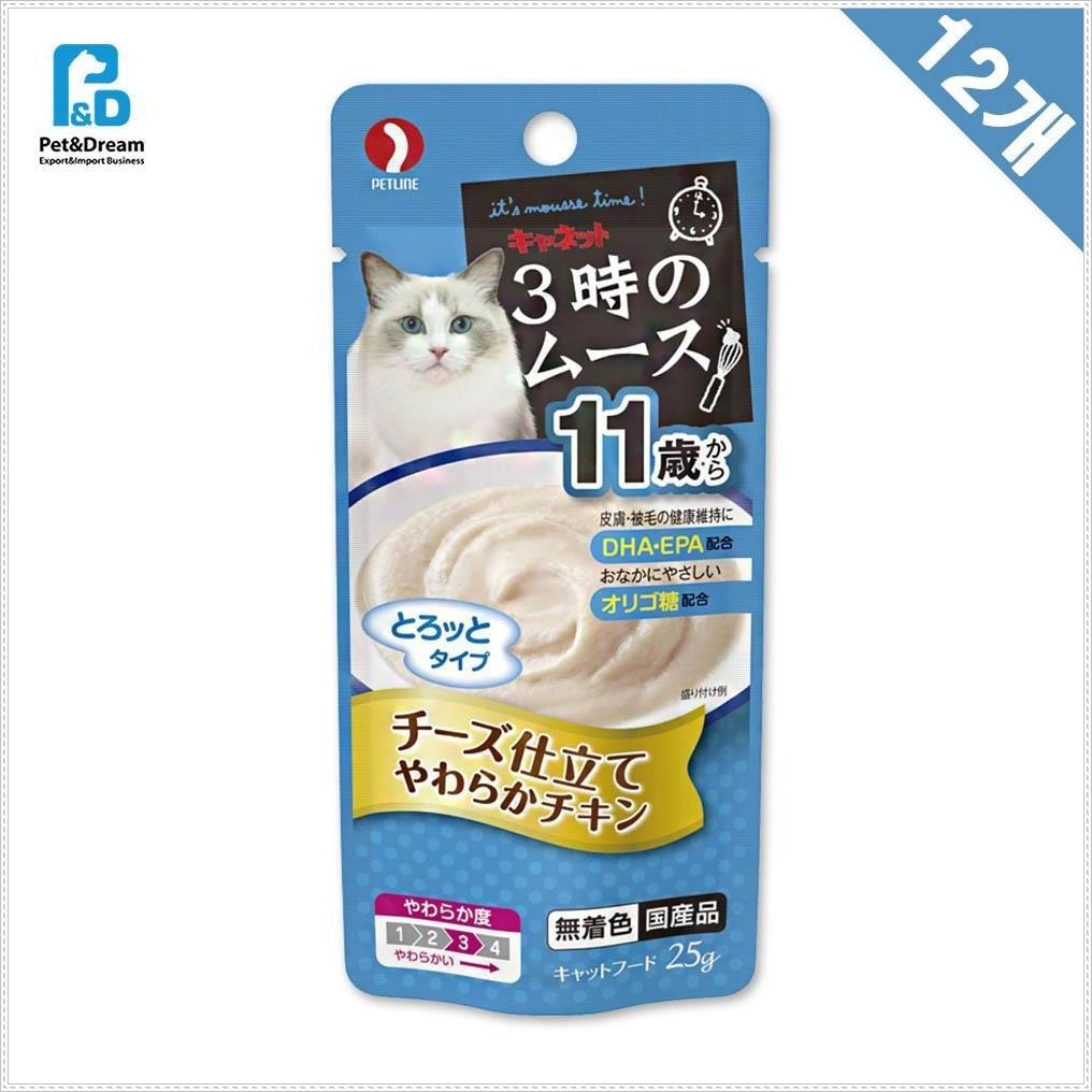 11세이상 냥이파우치 치즈 25g x12 냥이간식 냥이먹이