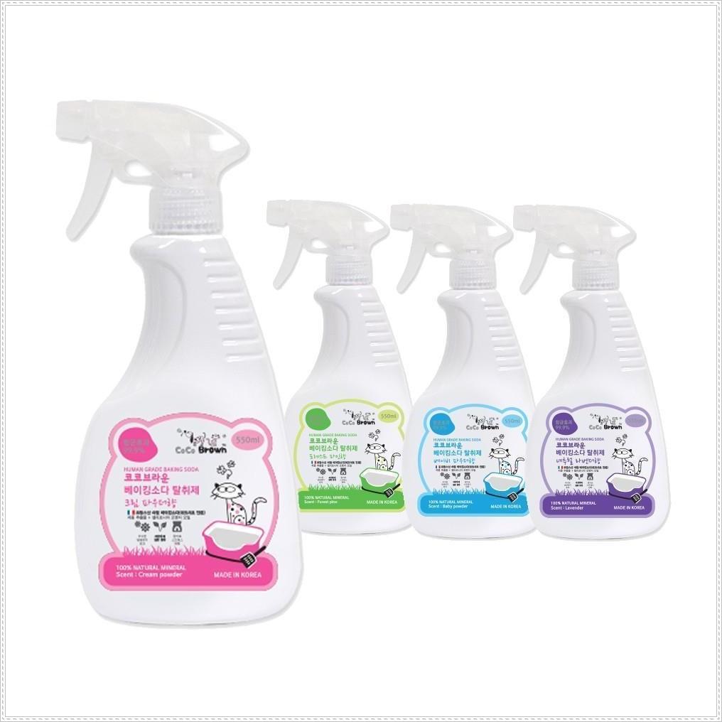 천연항균 냄새제거 탈취제 고양이용 550ml 배변냄새