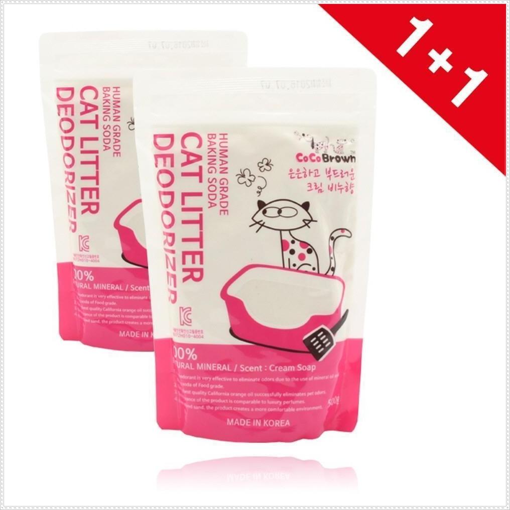 모래탈취제 디오더라이져 크림비누향 (1+1) 화장실