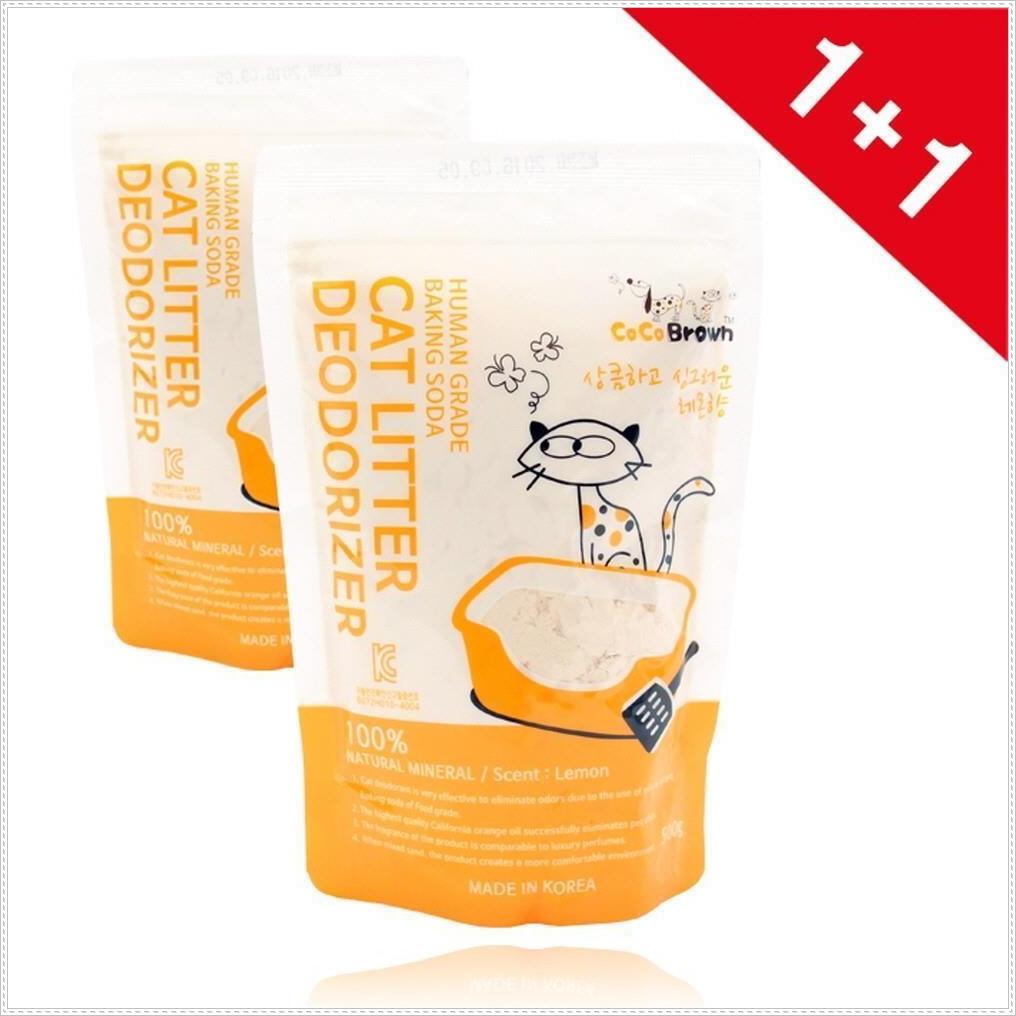 모래탈취제 디오더라이져 레몬향 (1+1) 애묘용품