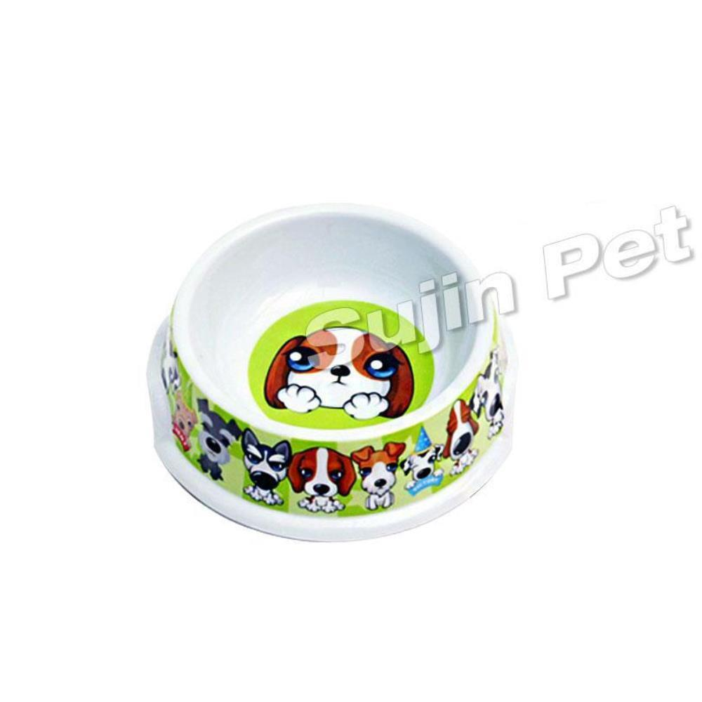강아지 밥그릇 도그볼 멜라닌 식기 2개 반려용품