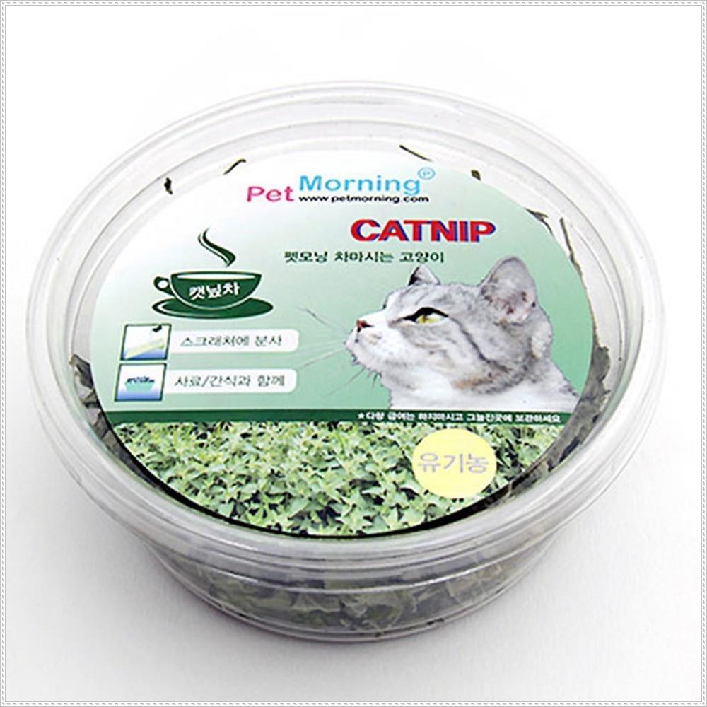 스트레스완화 차마시는 고양이 캣닢 12g 캣잎재배