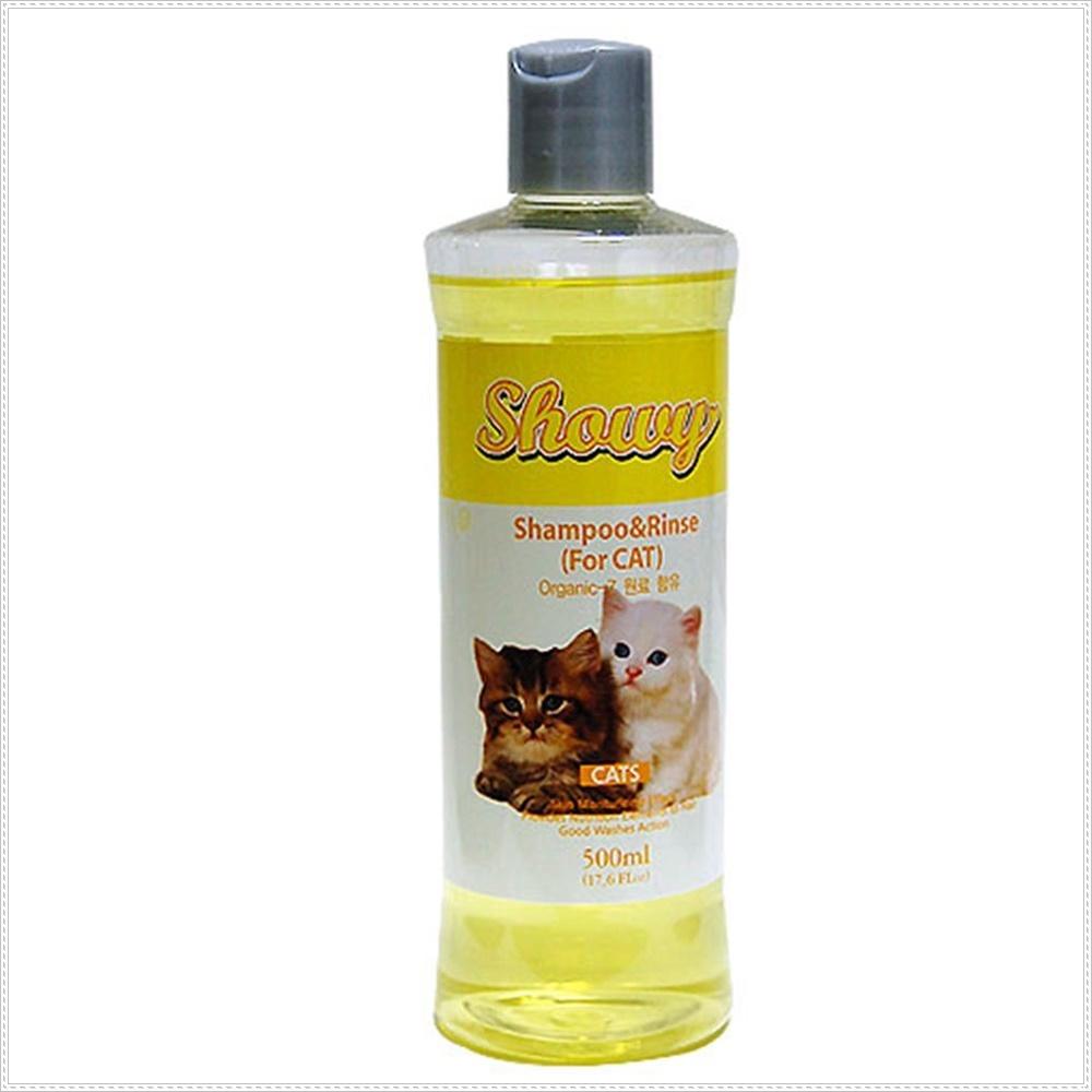 뛰어난 클렌징 고양이 샴푸n린스 파파야 고양이털관리