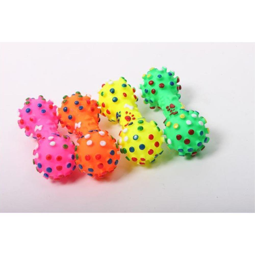강아지 놀이 삑삑이 아령공 애견 장난감 5개 장난감볼