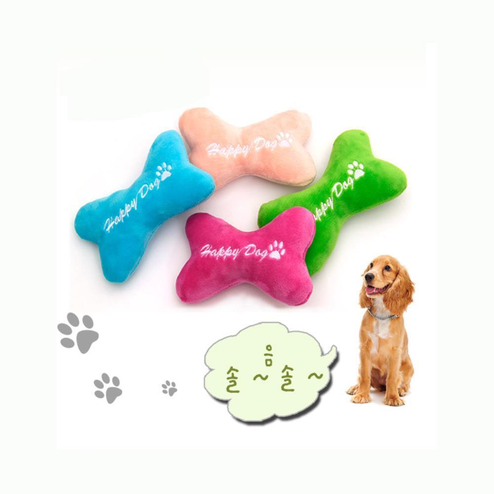 강아지 치석방지 놀이 본쿠션 봉제 장난감 애견용품