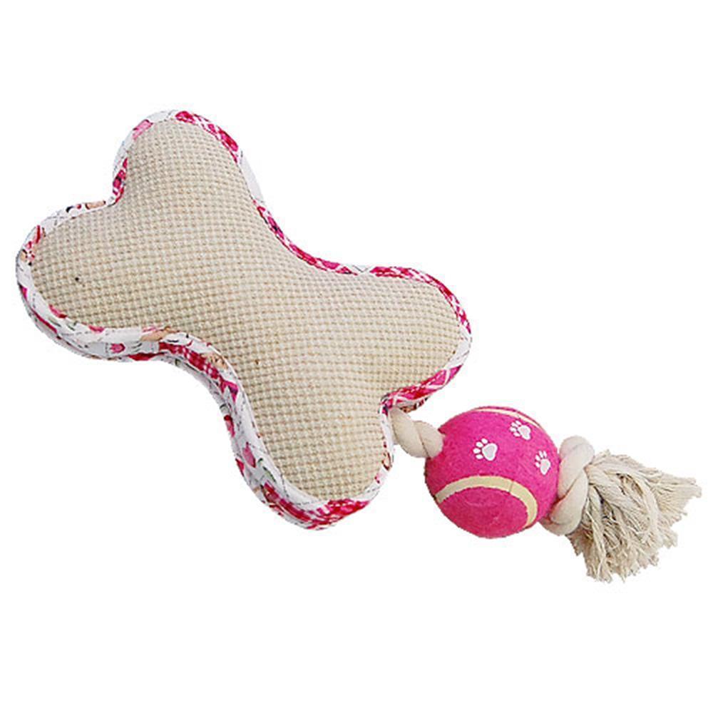 대형견용 로프 테니스볼 뼈다귀 장난감 애견장난감
