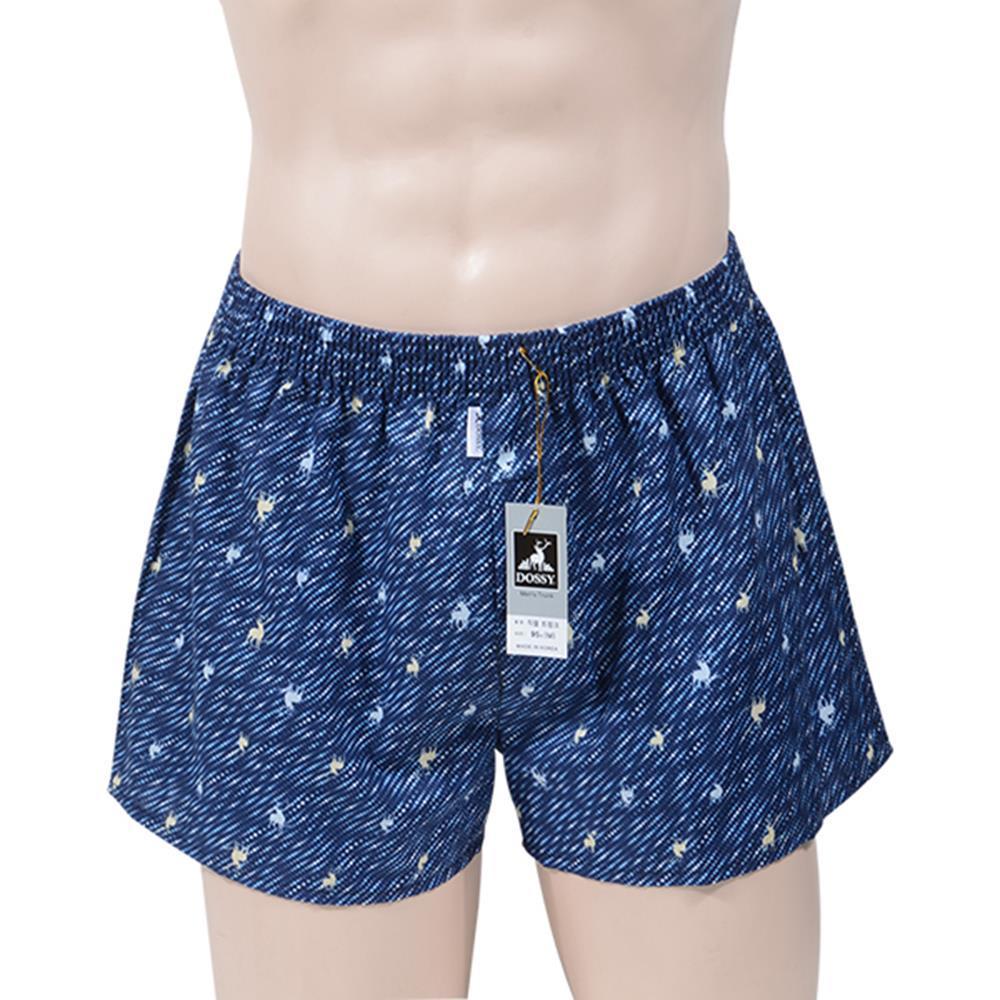 순면 100% 3D입체 재단 남성 트렁크 속옷 남성팬티