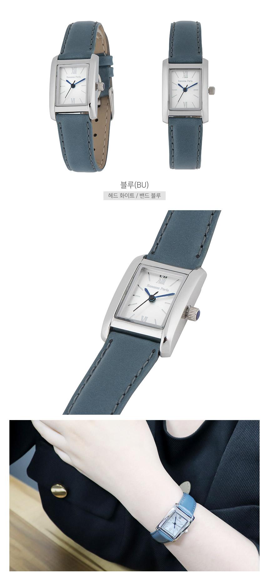 RE540 여성가죽시계/본사직영/본사AS - 란쯔, 148,000원, 여성시계, 가죽시계