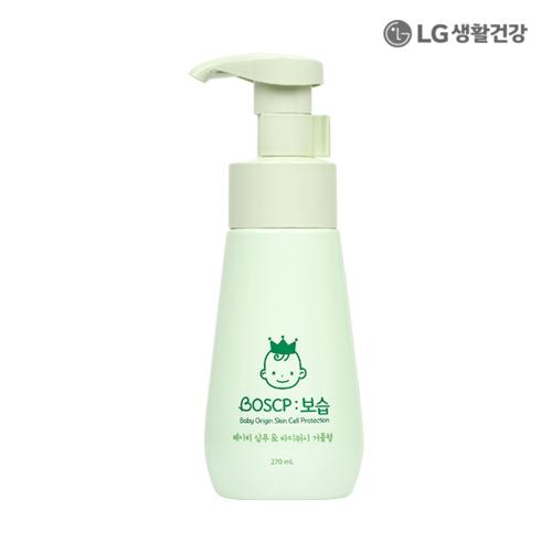 LG생활건강 보습 베이비 샴푸&바디워시 거품형 270ml●
