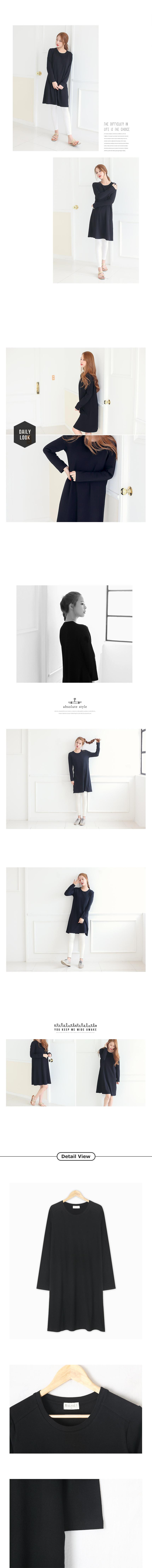 블랑티 속옷이 필요없는 원피스 블랙 - 다샵, 21,900원, 원피스, 롱/미디원피스
