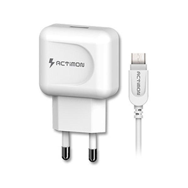 엑티몬 QC3.0 5핀 USB1포트 가정용 충전기 12V 1.5A