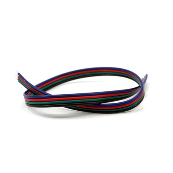 LED바 4줄(RGB LED용) 연장배선(전선) 30cm
