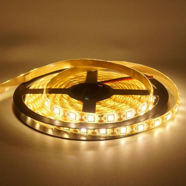 5V전용 LED바 5M롤 웜화이트LED 간접조명 인테리어 주방등 다용도