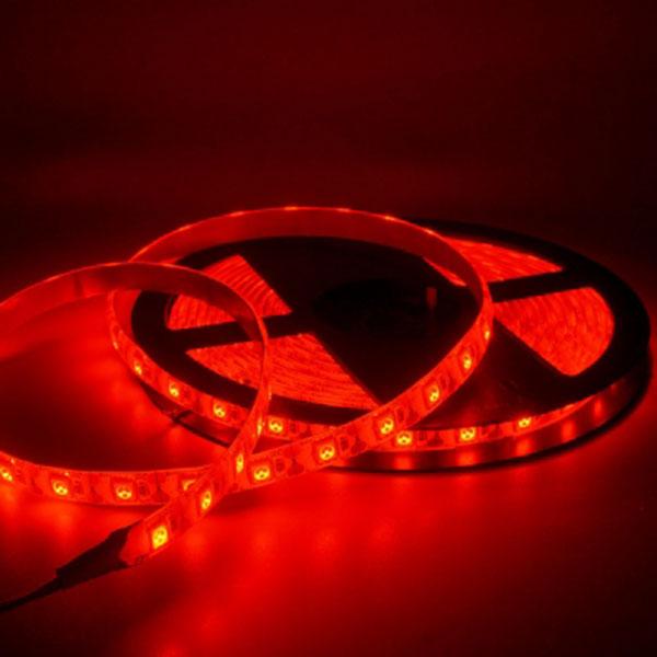 5V전용 LED바 5M롤 레드LED 간접조명 인테리어 주방등 다용도