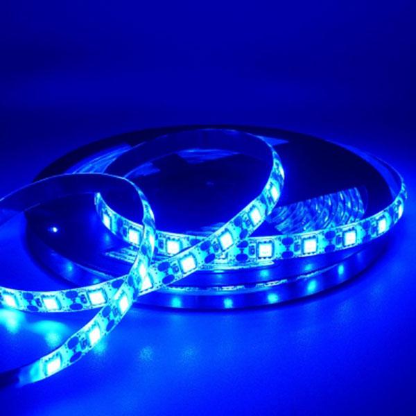 5V전용 LED바 5M롤 블루LED 간접조명 인테리어 주방등 다용도