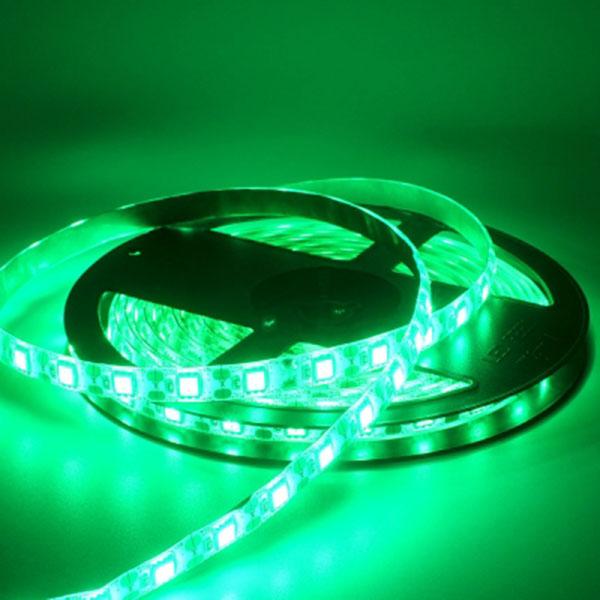5V전용 LED바 5M롤 그린LED 간접조명 인테리어 주방등 다용도