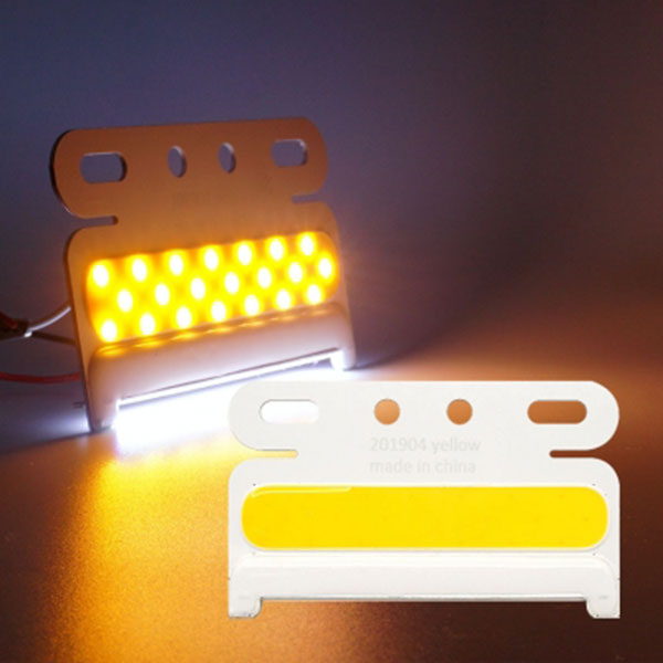 24V전용 2WAY COB LED차폭등 낱개1개 차량 폭 인식