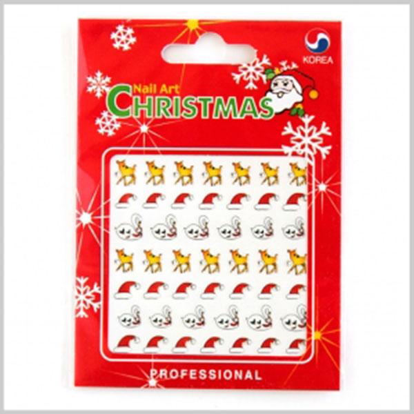 1000크리스마스네일아트스티커(24개묶음판매) [E-4]