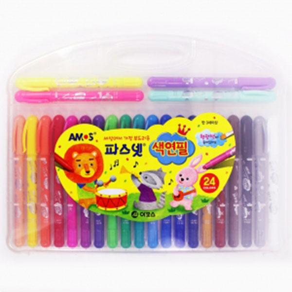 16000파스넷색연필(형광색)24색[F-2]