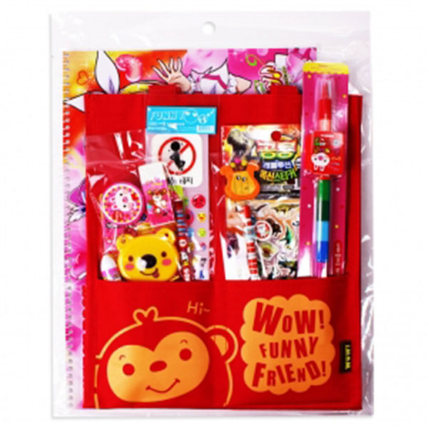 10000투포켓보조가방 선물문구세트(2000스케치북사은품)[C-5]