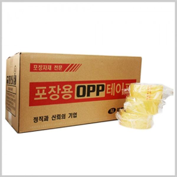 OPP투명박스테이프 50M 20개묶음판매