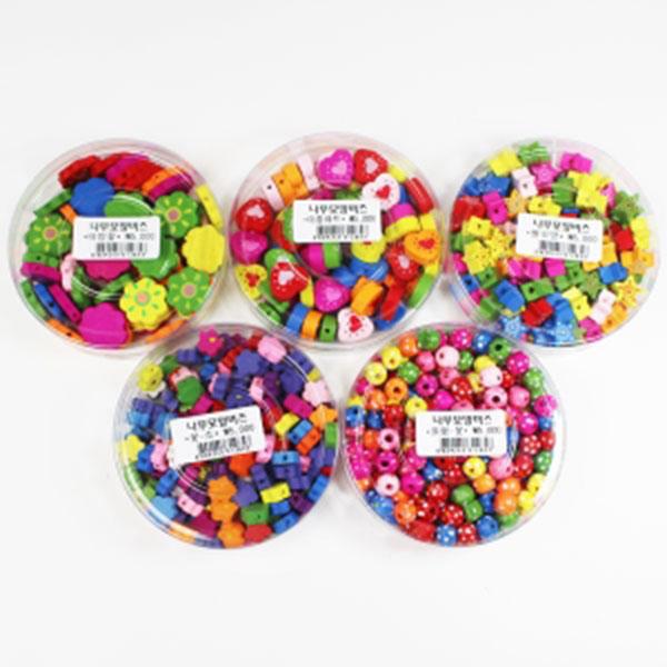 5000나무모양비즈 원형-꽃,이중하트,꽃-소,별모양,태양꽃