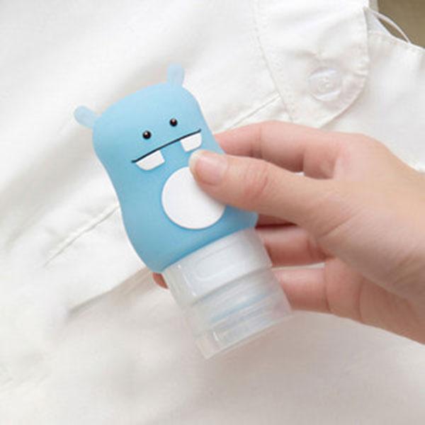 PT 핀뮤 여행용 샴푸통 - 블루 하마