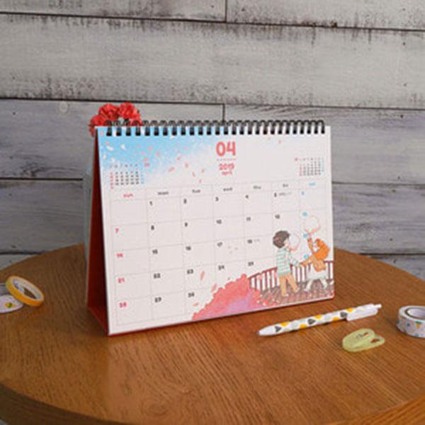 밥 먹고 갈래요? 2019 Desk Calendar