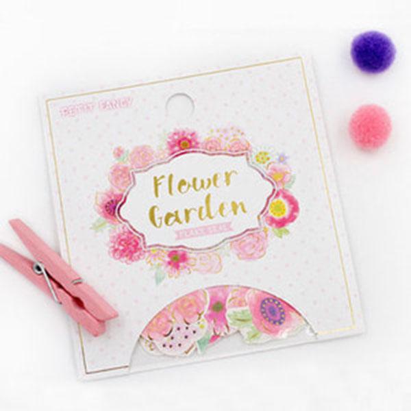 플라워가든 조각 스티커 DA5418 - Pink