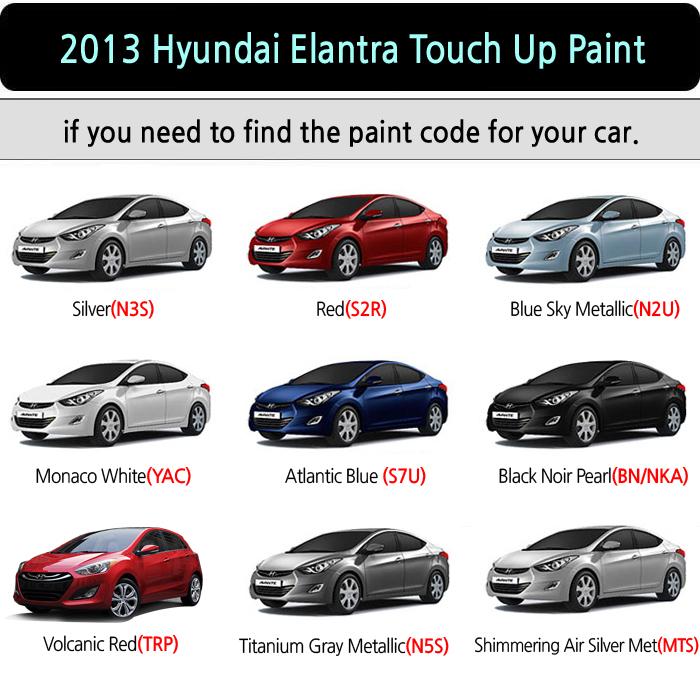 Hyundai Elantra Gt Touch Up Paint