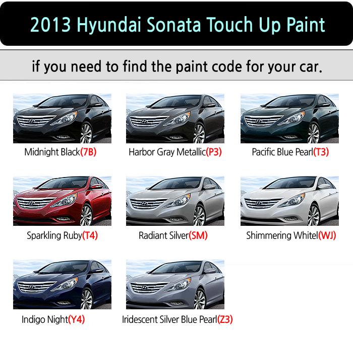 Magictip Hyundai Sonata Hybrid Touch Up Paint Pen 7b P3 T3