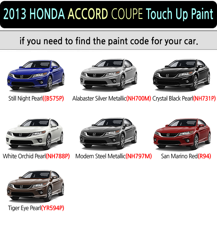 Honda Accord White Touch Up Paint